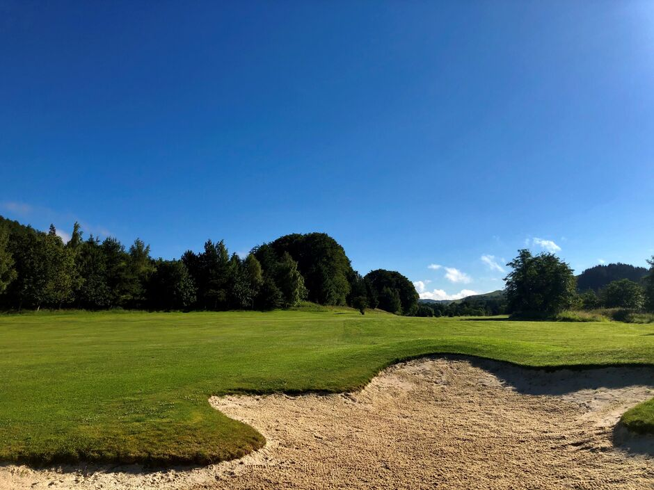 Hole 12: Thief's Road, Woll Golf Course
