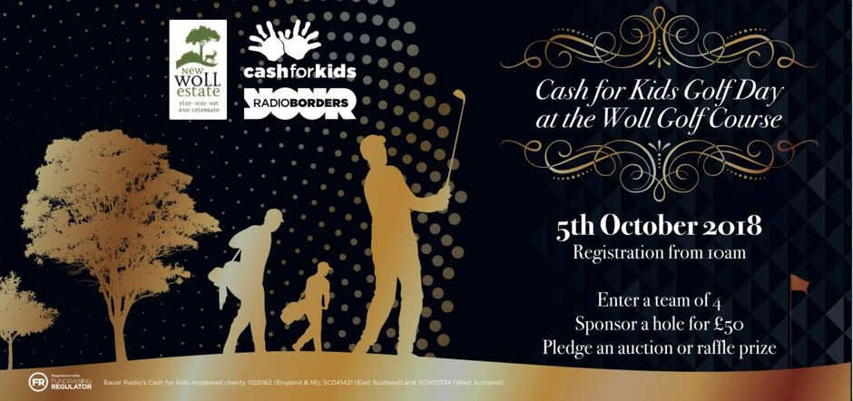 Radio Borders Cash for Kids at The Woll Golf Course