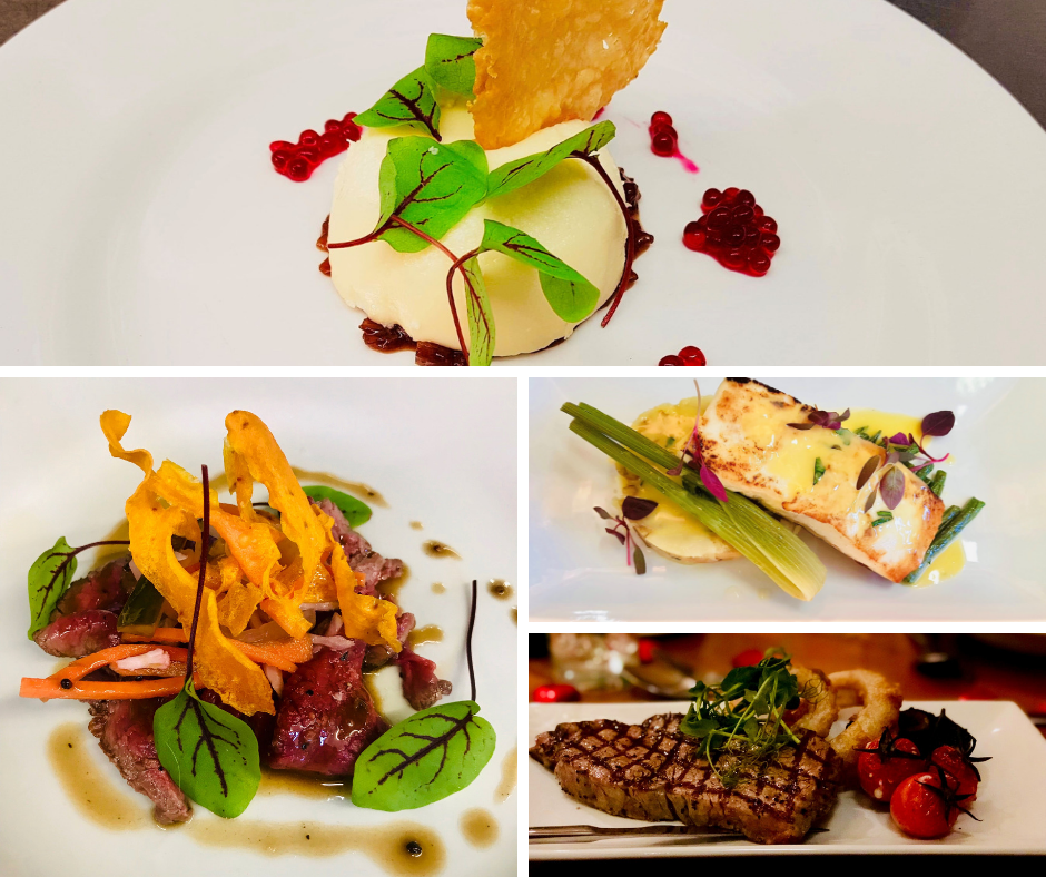 exciting new dishes at the Woll Restaurant