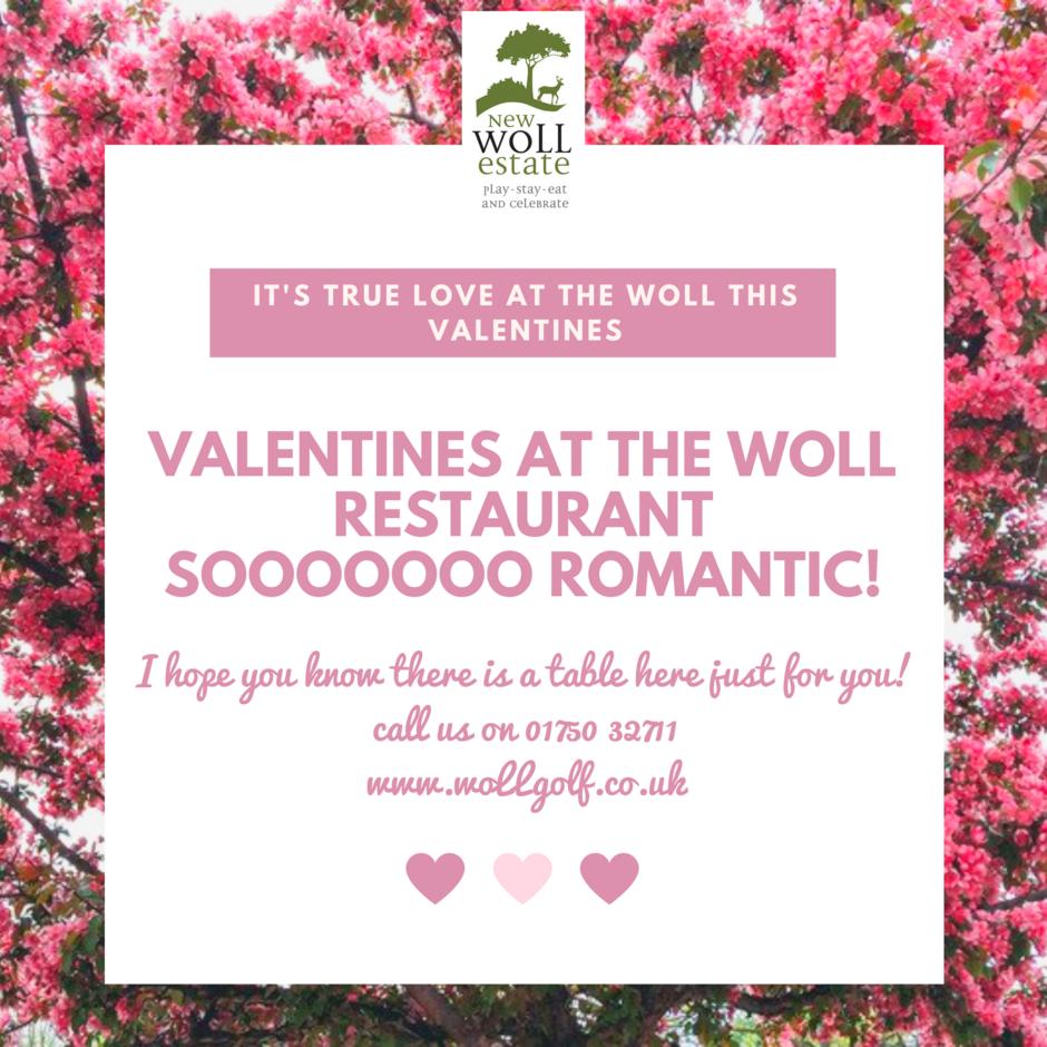 Valentines dinner at Woll Restaurant