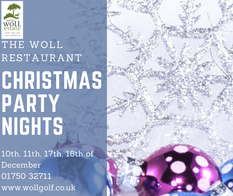 Woll restaurant Christmas party nights