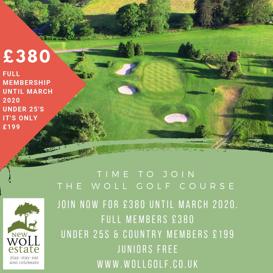 Woll Membership 2019 best in the Borders