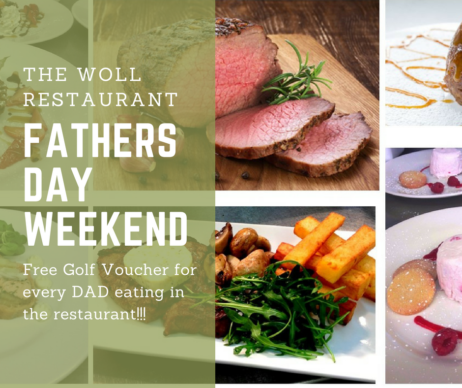 Fathers Day Weekend at Woll book now