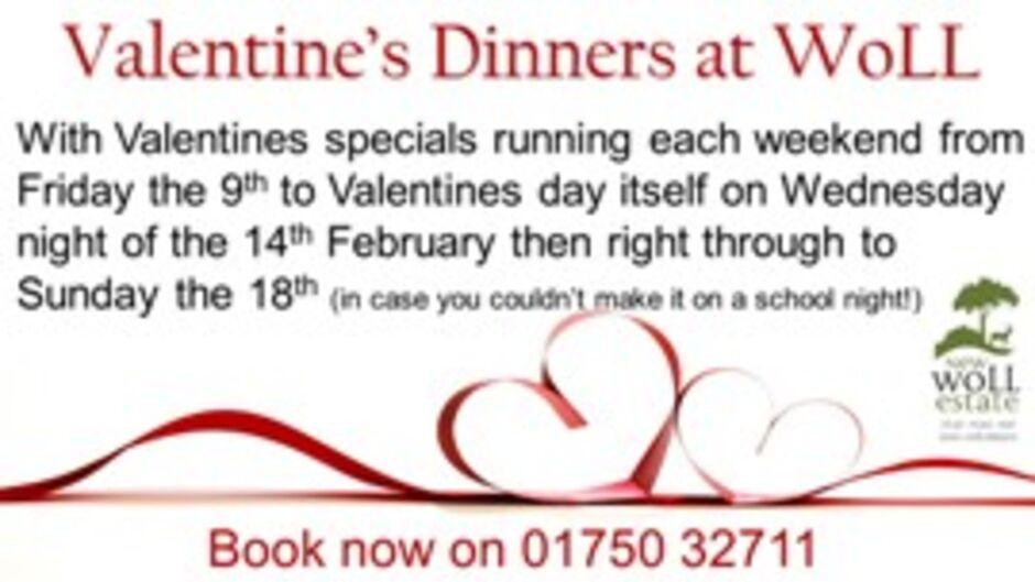 Woll restaurant Valentines