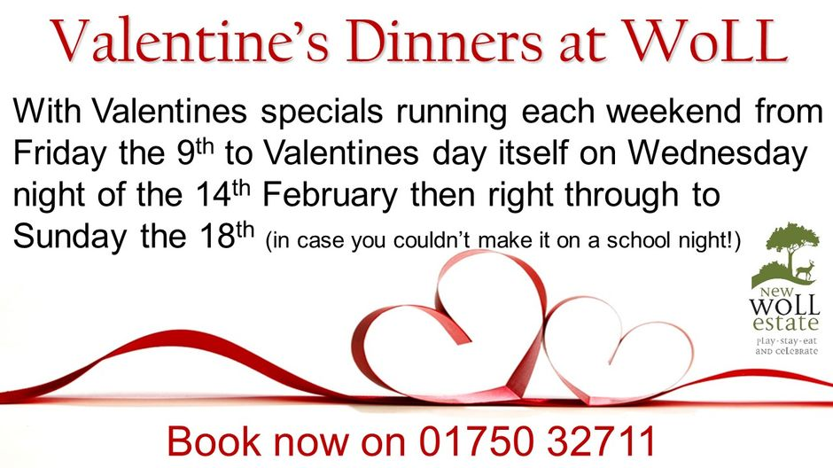 Valentines at the Woll Restaurant