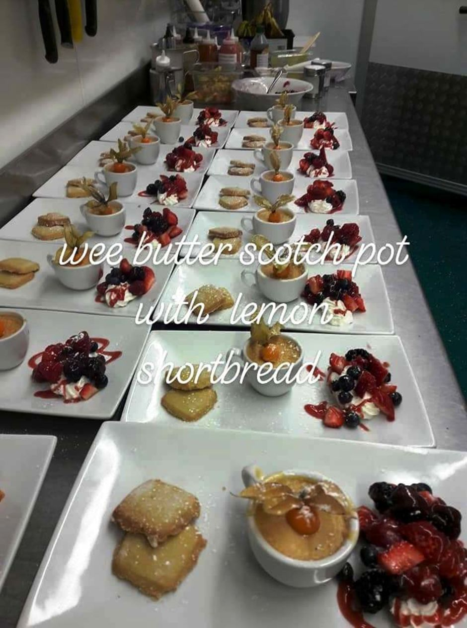 Just one of the Woll's homemade desserts