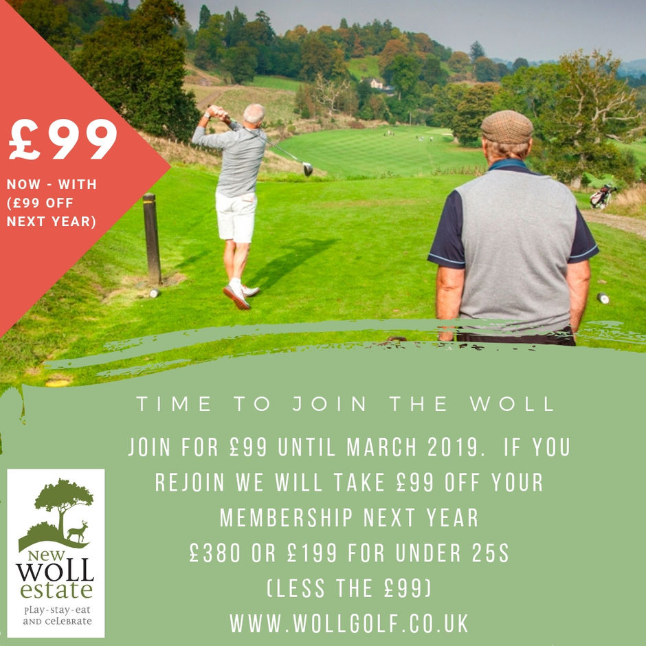 Membership of the Woll Golf Course - Membership Offers
